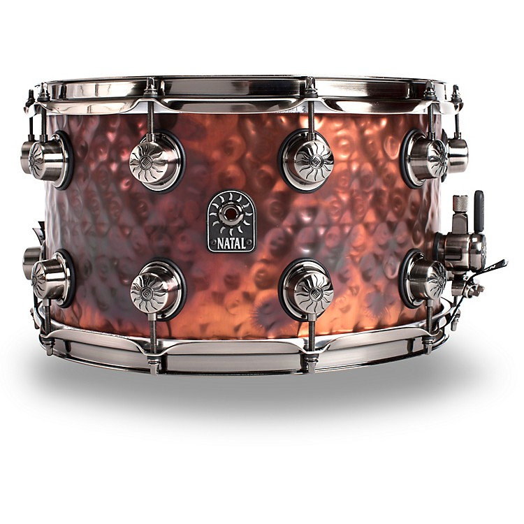 Natal DrumsMeta Hand Hammered Snare14 x 8 in.Old Bronze