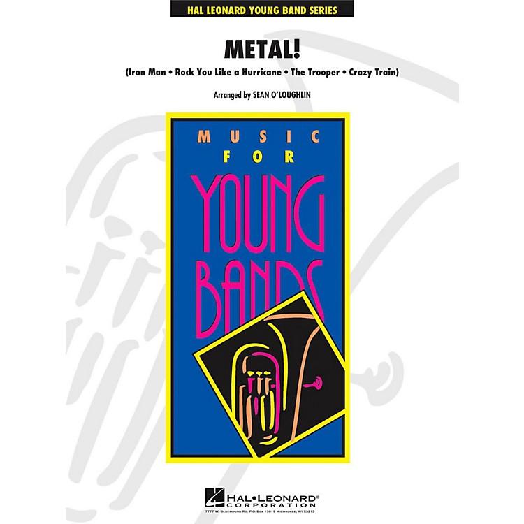 Hal LeonardMetal! - Young Concert Band Level 3