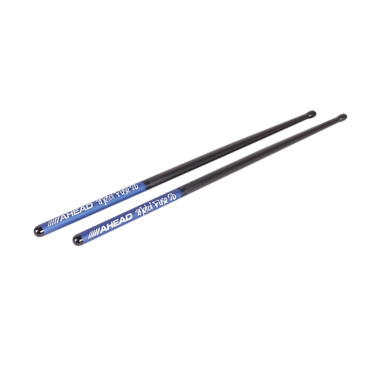 ahead metal fuse long taper sticks  pair  black tip 2b