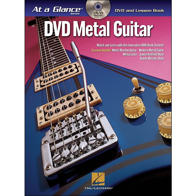 Hal Leonard Metal Guitar - At A Glance (Book/DVD)