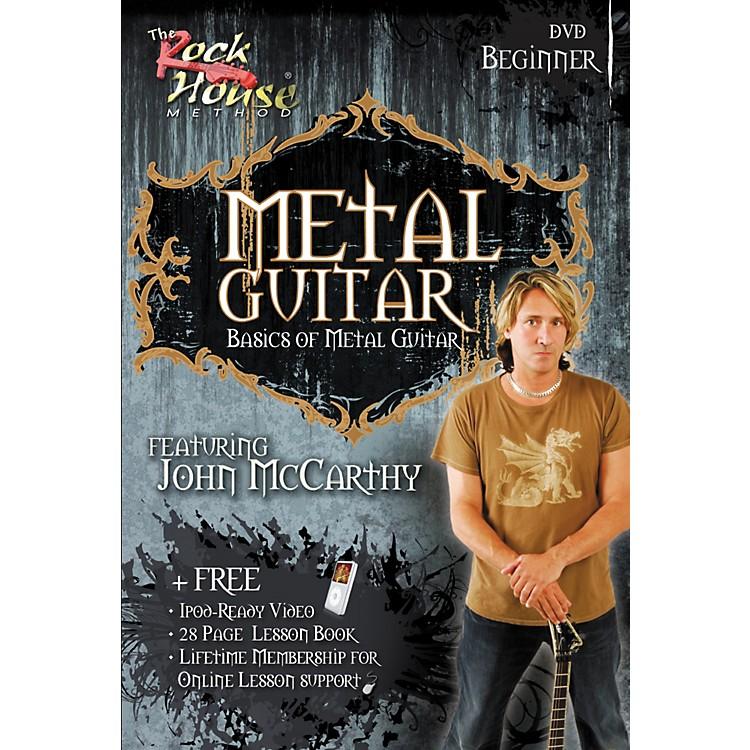 Hal LeonardMetal Guitar Beginner DVD
