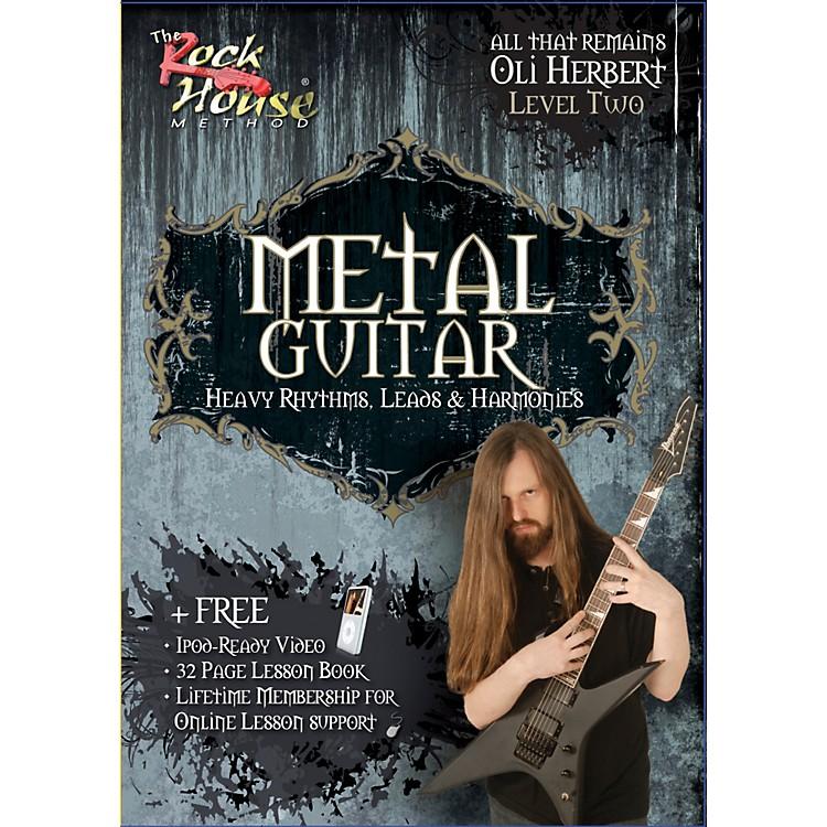Hal LeonardMetal Guitar- Heavy Rhythms, Leads & Harmonies Level 2 with Oli Herbert of All That Remains (DVD)
