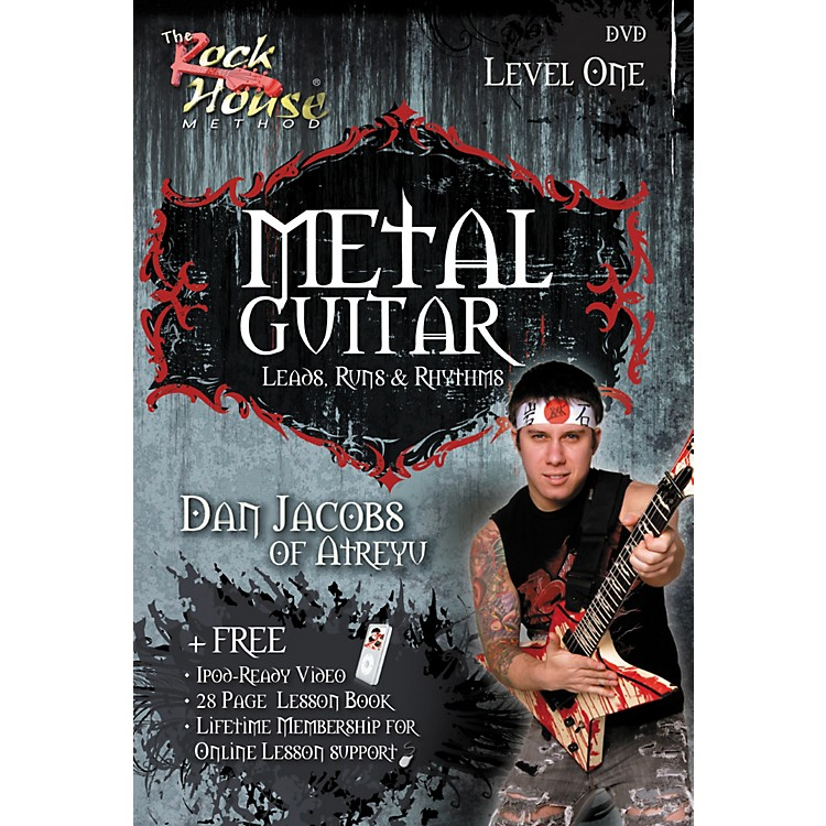 Hal Leonard Metal Guitar with Leads, Runs & Rhythms with Dan Jacobs DVD