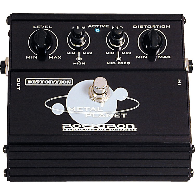 Rocktron Metal Planet Distortion Pedal  888365781532