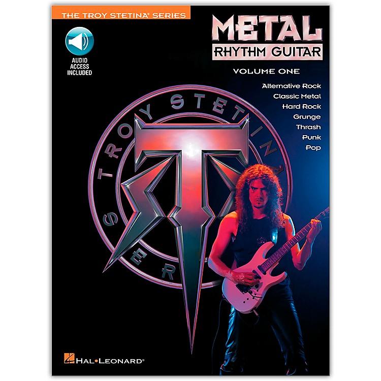 Hal LeonardMetal Rhythm Guitar Volume 1 (Book/CD)