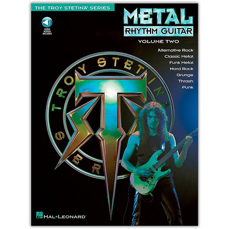 Hal LeonardMetal Rhythm Guitar Volume 2 (Book/Online Audio)