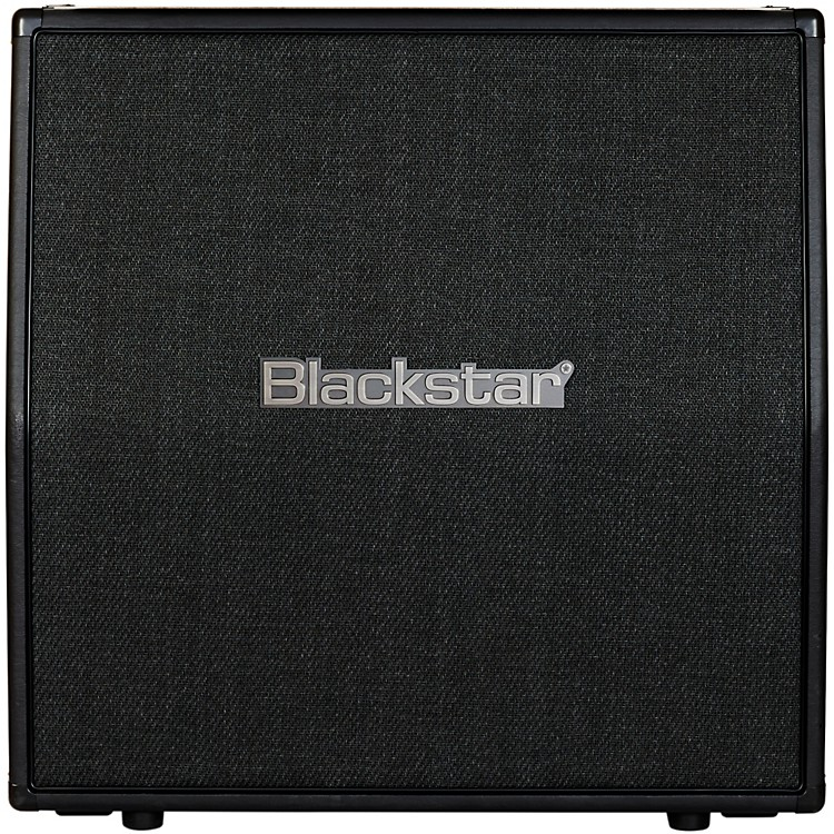 Blackstar Metal Series 4x12 Guitar Cabinet with Celestions Angled Black
