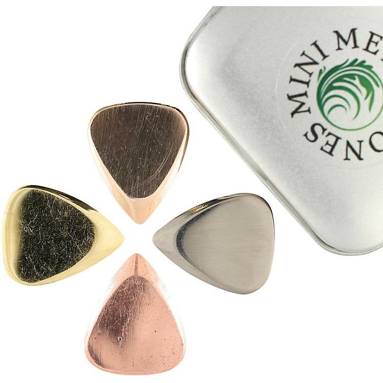 Timber TonesMetal Tones Mini-Mixed Tin of 4 Guitar Picks
