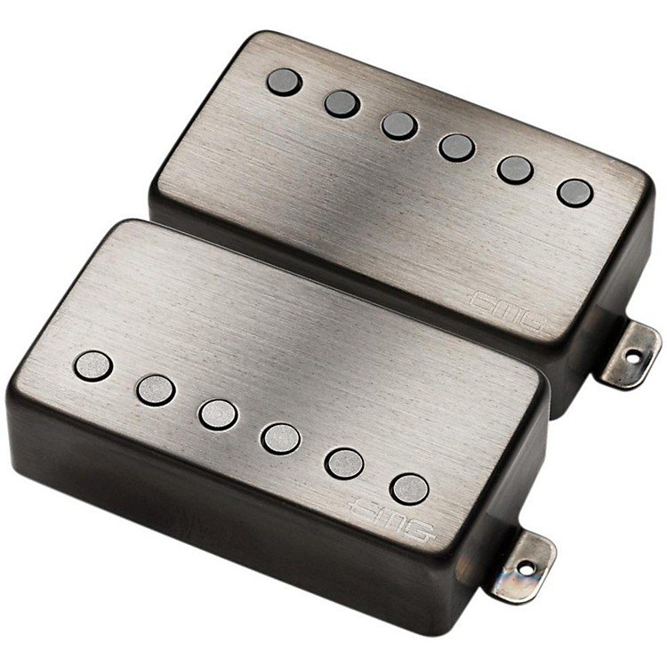EMG Metal Works JH James Hetfield Humbucker Signature Set Brushed Chrome