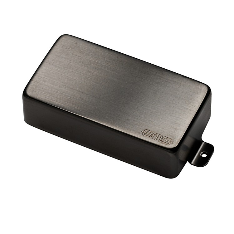 EMG MetalWorks EMG-81 Humbucking Active Pickup Brushed Black Chrome