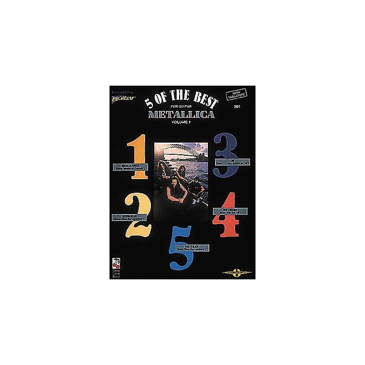 Cherry LaneMetallica - 5 of the Best Volume 1 Book
