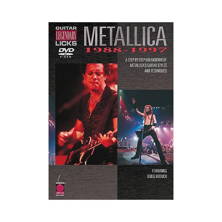 Cherry LaneMetallica - Guitar Legendary Licks 1988-1997 (DVD)