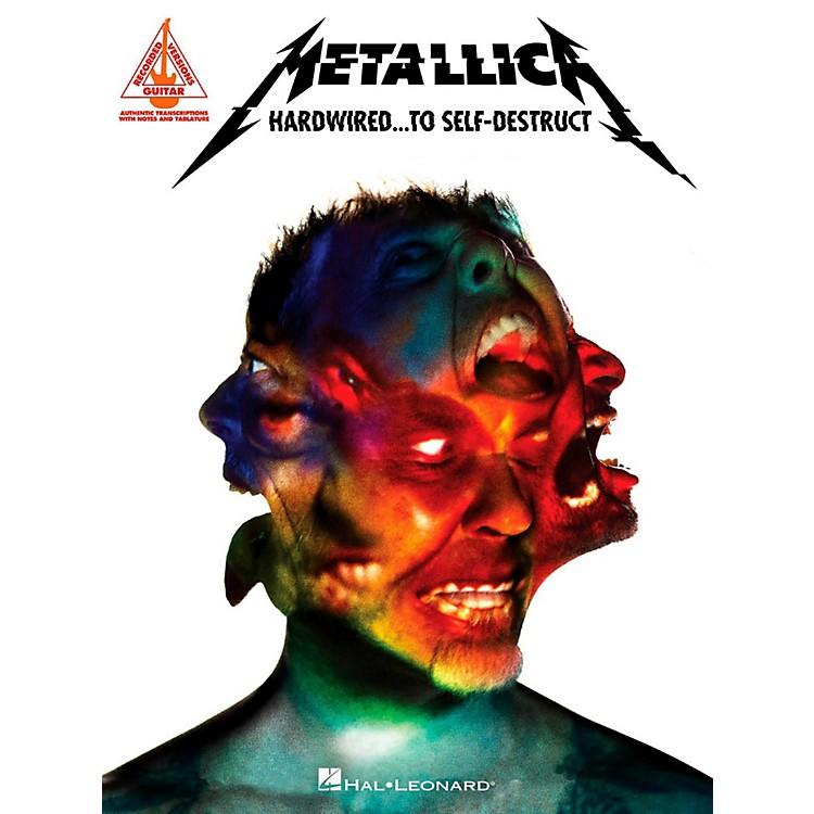 Hal LeonardMetallica - Hardwired...To Self-Destruct Guitar Tab Songbook