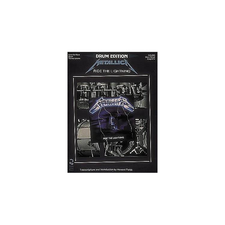 Hal LeonardMetallica - Ride The Lightning Drum Book