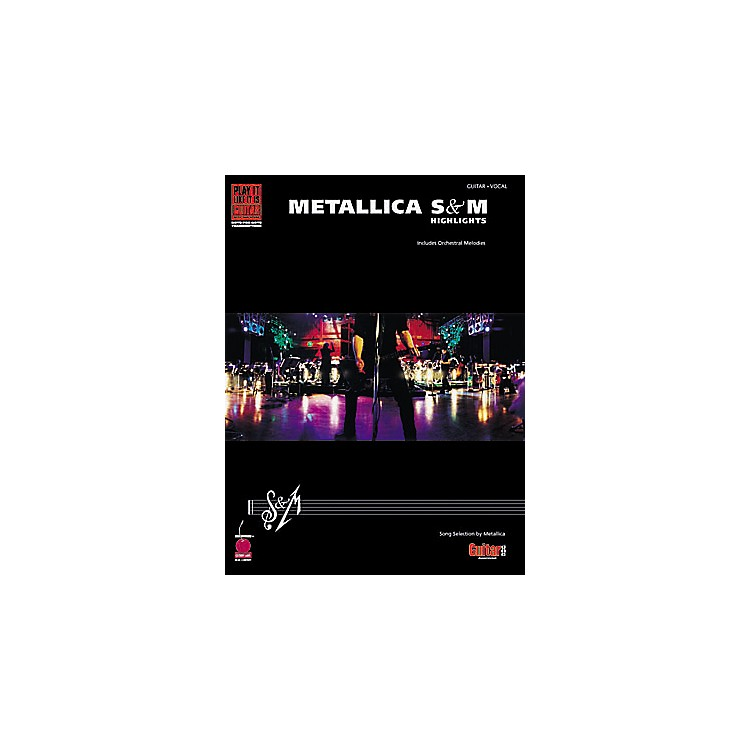 Hal Leonard Metallica - S&M Highlights Book