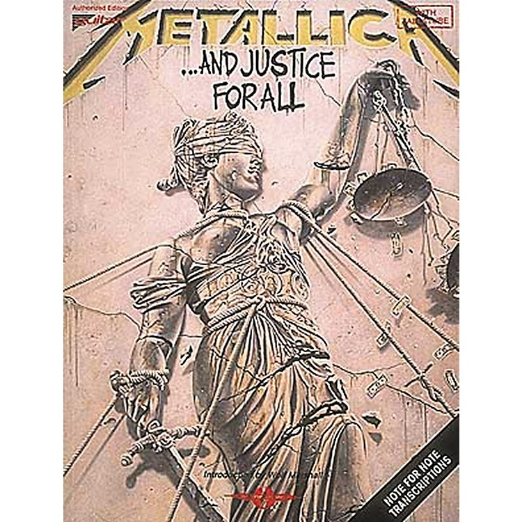 Hal LeonardMetallica: . . . And Justice For All Guitar Tab Songbook