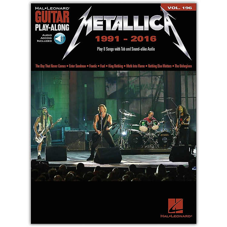 Hal LeonardMetallica: 1991-2016 Guitar Play-Along 196 Book/Audio Online