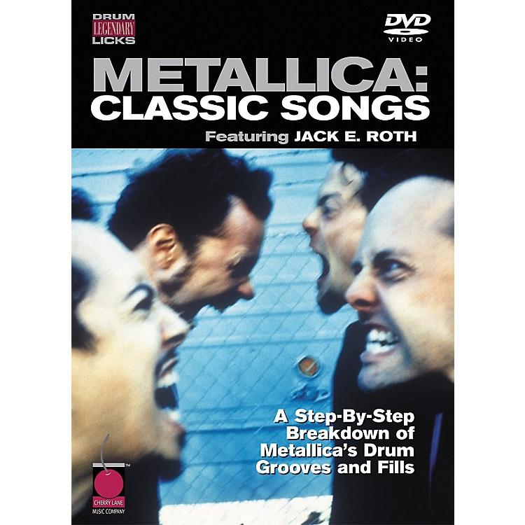 Cherry LaneMetallica: Classic Songs - Drum Legendary Licks DVD
