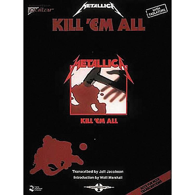 Hal LeonardMetallica Kill 'em All Guitar Tab Songbook
