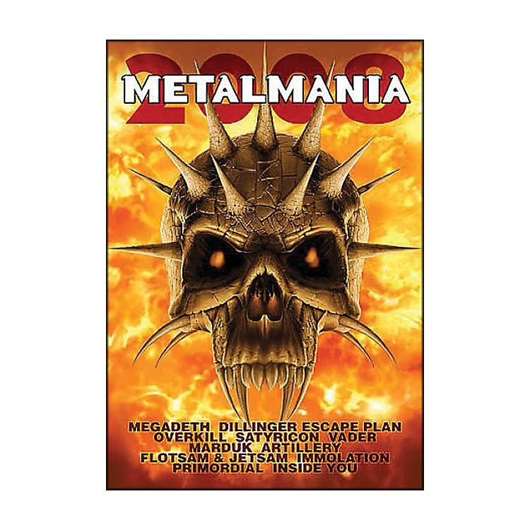 Hal LeonardMetalmania 2008 Live Concert DVD with Megadeth Overkill Rimordial And More