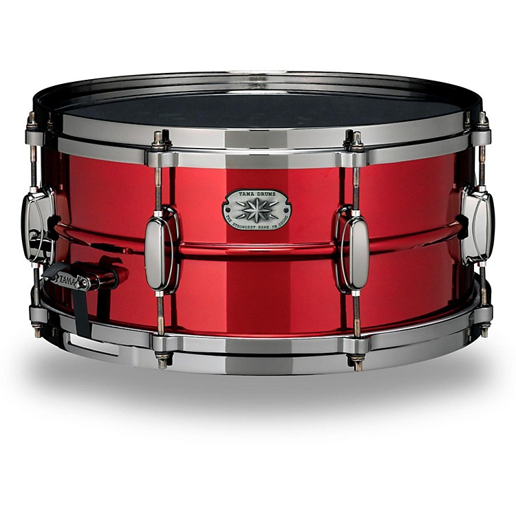 Tama Metalworks Limited Edition Steel Snare 14x6.5 in. Ruby Red Lacquer