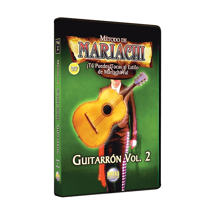 Mel BayMetodo De Mariachi Guitarron DVD, Volume 2 - Spanish Only