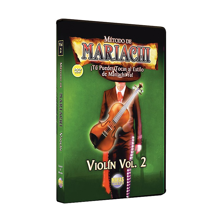 Mel Bay Metodo De Mariachi Violin DVD, Volume 2 - Spanish Only