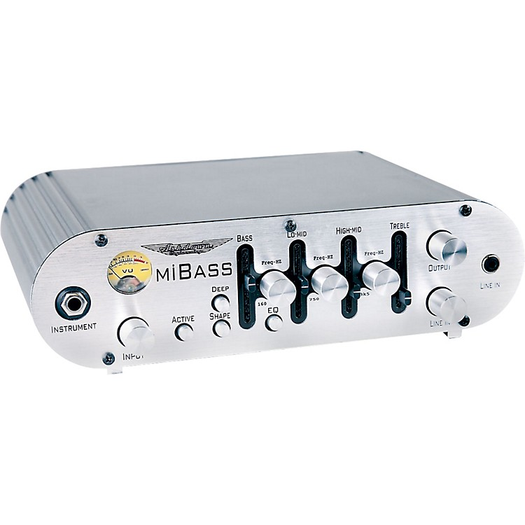 Ashdown MiBass-550 Bass Amp Head Silver