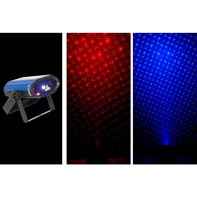 CHAUVET DJ MiN Laser RBX Mini Red & Blue Laser Lighting Effect