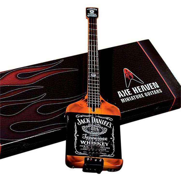 Axe HeavenMichael Anthony Jack Daniels Bass Miniature Guitar Replica Collectible