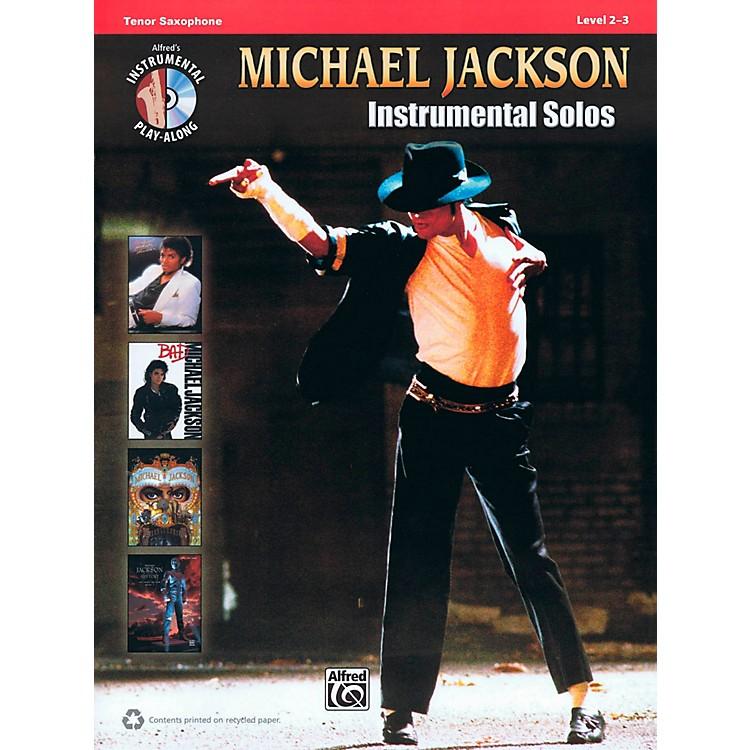 Hal LeonardMichael Jackson - Instrumental Solos Play-Along for Tenor Sax Book/CD