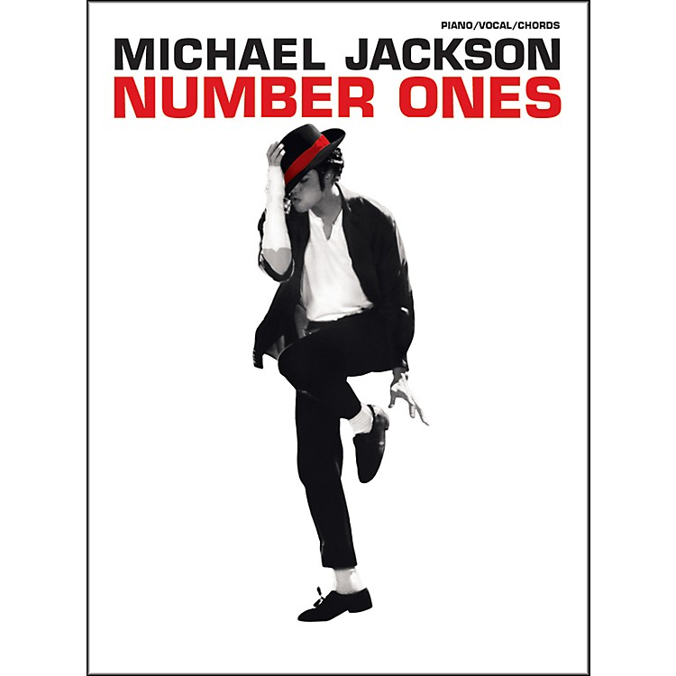 Hal Leonard Michael Jackson - Number Ones for Piano, Vocal, and Guitar Book
