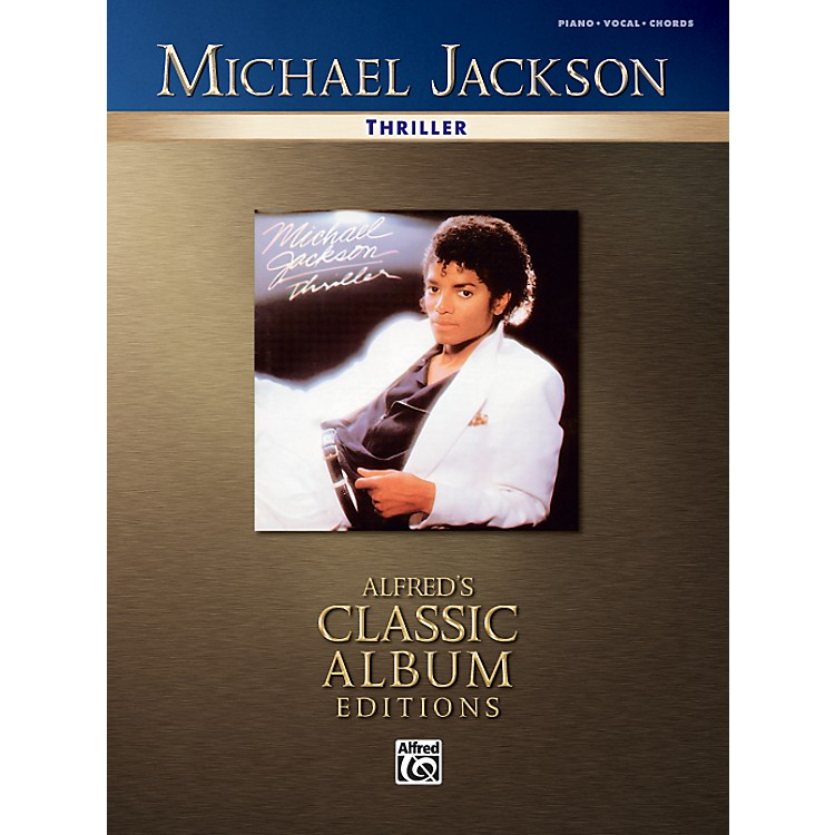 AlfredMichael Jackson Thriller Piano/Vocal/Chords