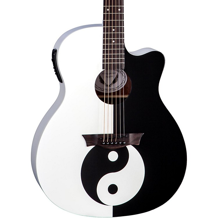 Dean Michael Schenker Performer Acoustic-Electric Guitar Yin Yang