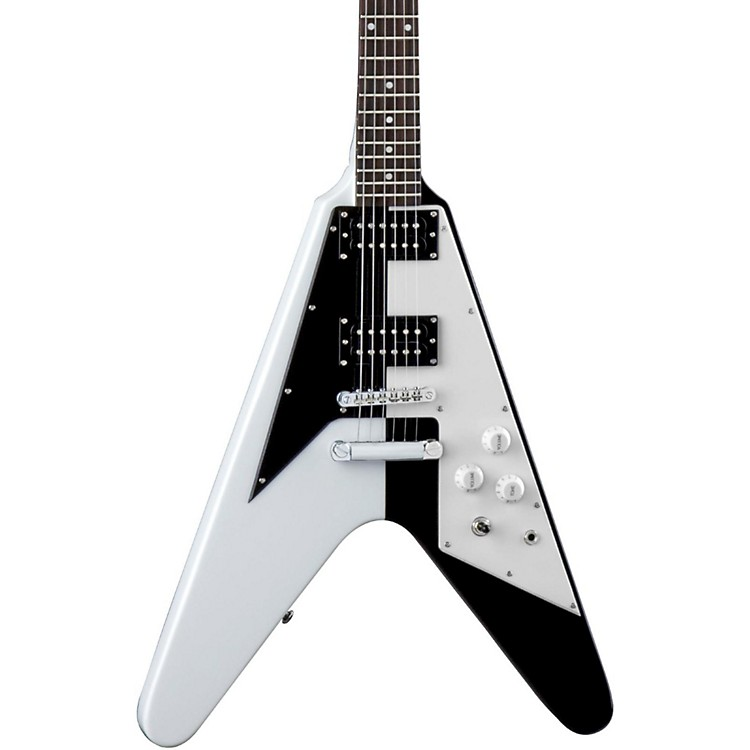 Dean Michael Schenker Signature Retro Electric Guitar White/Black