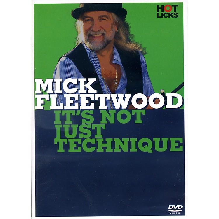Music SalesMick Fleetwood It's Not Just Technique Drum DVD