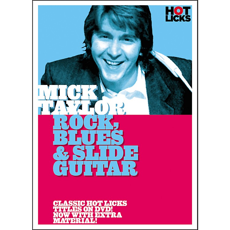 Hot LicksMick Taylor: Rock Blues and Slide Guitar DVD