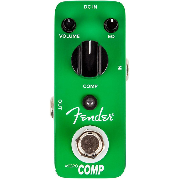 Fender Micro Compressor Guitar Effects Pedal