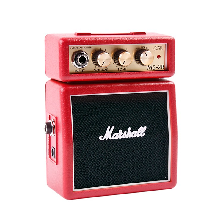 MarshallMicro Stack 1W Guitar Combo AmpRed