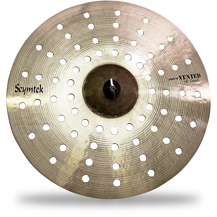Scymtek CymbalsMicro-Vented Crash Cymbal18 in.