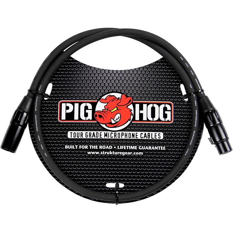 Pig HogMicrophone Cable 8mm XLR(M) to XLR(F)3 ft.