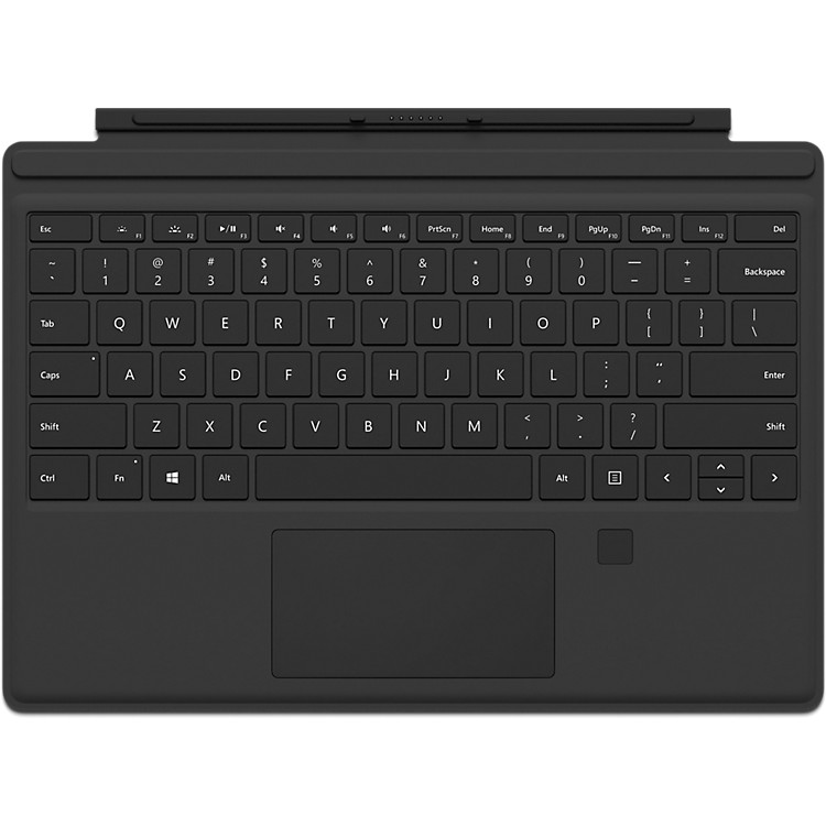 MicrosoftMicrosoft Surface Pro 4 Signature Type Cover with Fingerprint IDBlack