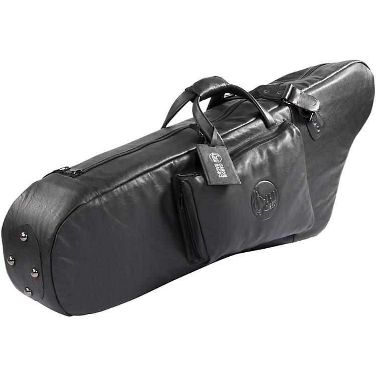 GardMid-Suspension AM Low A Baritone Saxophone Gig Bag106B-MLK BlackUltra Leather