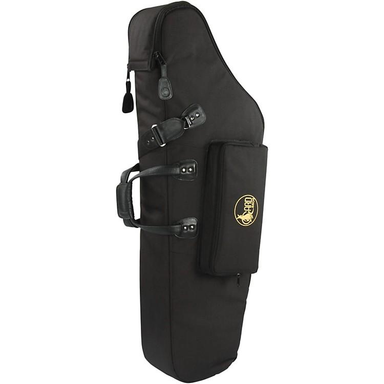 GardMid-Suspension AM Low A Baritone Saxophone Gig Bag106B-MSK BlackSynthetic w/ Leather Trim