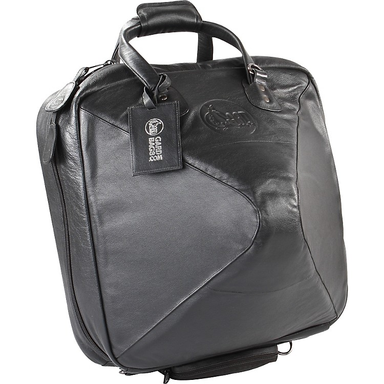 Gard Mid-Suspension Detachable Bell French Horn Gig Bag 42-MLK Black Ultra Leather