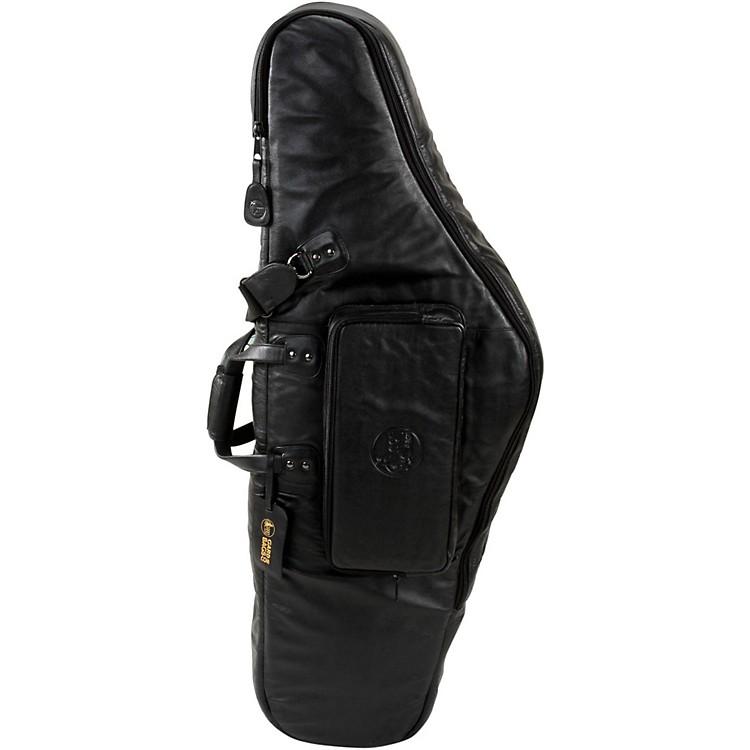 GardMid-Suspension EM Low Bb Baritone Saxophone Gig Bag107-MLK BlackUltra Leather