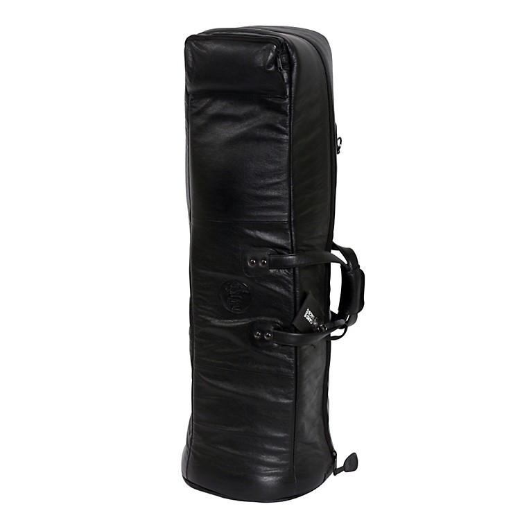 Gard Mid-Suspension G Series Bass Trombone Gig Bag 26-MSK Black Synthetic w/ Leather Trim