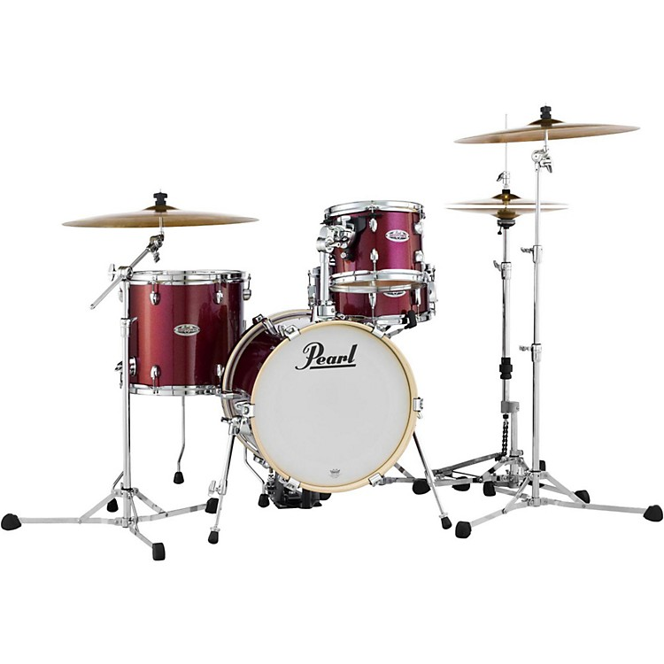 PearlMidtown Series 4-Piece Shell PackBlack Cherry Glitter