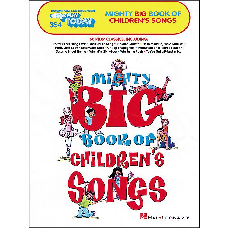 Hal LeonardMighty Big Book Of Childrens Songs E-Z Play 354