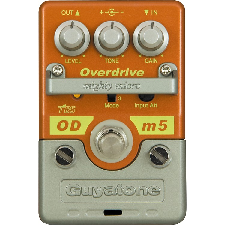 GuyatoneMighty Micro Series ODm5 Overdrive Guitar Effects Pedal